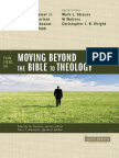 Four Views on Moving beyond the Bible to Theology, Excerpt