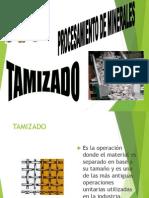 Procesamiento de Minerales - Tamizado