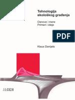 Tehnologija ekološkog građenja -  Klaus Danijels