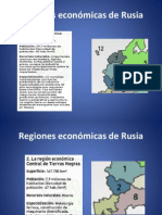 Regiones Económicas de Rusia Power Point