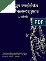Yoga Vasishta of Valmiki - Valmiki