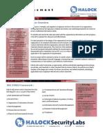 Halock ACS - Controls Gap Assessment