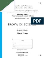 Scienze Prima Media Pp3