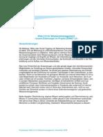 2008-11 Web 2.0 im Wissensmanagement -Projektpaper centrestage