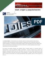 El Ocaso Del Diesel_origen y Popularización