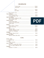 Carta de Vinos Horcher PDF 2013