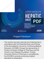 Current Perspectives Into the Management of Hepatic Encephalopathy