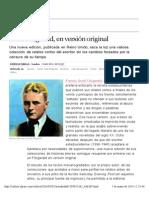 Scott Fitzgerald, en versión original