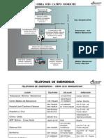 Flujograma Plan de Emergencias