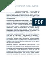 RESUMO DA I E II EPÍSTOLA À TIMÓTEO.docx