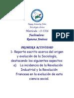 Sociología Tarea 1 Doc