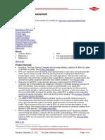 Security Assessment Bisphenol A