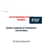 CEER - Termodinâmica e Ciclos de Potência - Arquivo 1