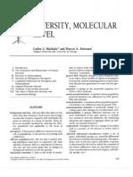(260818101) Diversidad a Nivel Molecular