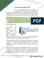 La Estructura Organizacional TEMA 4