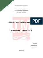 Torremorn Tomato Paste