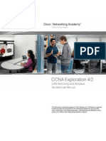 CCNA 3 Student Lab Manual