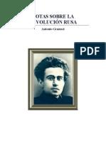Antonio Gramsci - Notas Sobre La Revolución Rusa.pdf