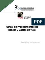 Manual de Viaticos 2012
