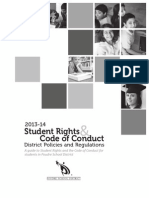 student rights and code of conduct