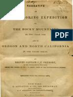Fremont Through Desert 1844