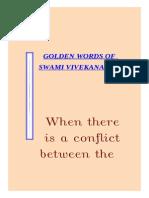 18701 Golden Words of Swami Vivekananda