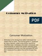 Consumer Motivation