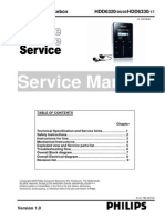 Philips HDD6320 HDD6330 Service Manual