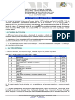Microsoft Word - Unirg - Edital Ps 2013 2 Aprovado No Consup