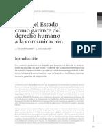 u1 m1 El Rol Del Estado Como Garante Del Derecho Humano a La Comunicación Loreti-lozano