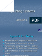 Operating Systems - CS604 Power Point Slides Lecture