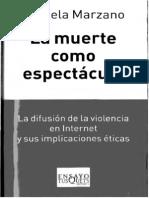 Michela Marzano La Muerte Como Espectaculo