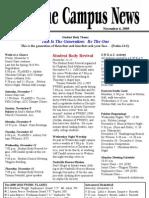 FWBBC CampusNews 11-06-09