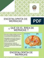 Encefalopatía de Wernicke