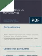 10.- Dosificacion de Hormigones
