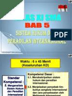 Bab v Sistem Hk & Perad Int