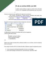 Proceso ETL de Un Archivo EXCEL Con
