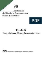 NSR-98 Titulo K