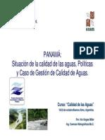 Calidad de Las Aguas-Panama