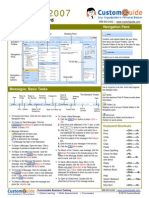 Outlook Quick Reference 2007