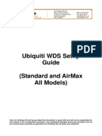 Ubiquiti Wds Bridge Setup