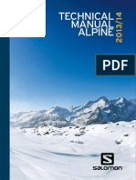 2013 Salomon Alpine Tech Manual