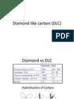 Diamond like carbon (DLC)