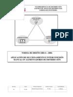 EDC_Norma (IID)6 Aplicación de Seccionamiento e Interconexión Manual