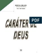 APOSTILA CARÁTER DE DEUS - CIDA CLAUDINO PB corrigido (1).doc