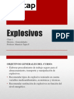 Clase 1 Explosivos