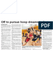 Off to pursue hoop dreams in States (The Star, April 30, 2014)