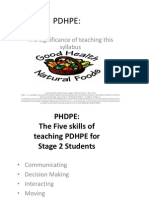 pdhpe - assessment 2 - weebly assessment - powerpoint slides