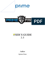 Primefaces Users Guide 3 5c
