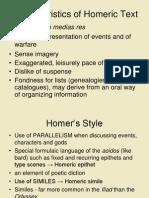 Homeric Style